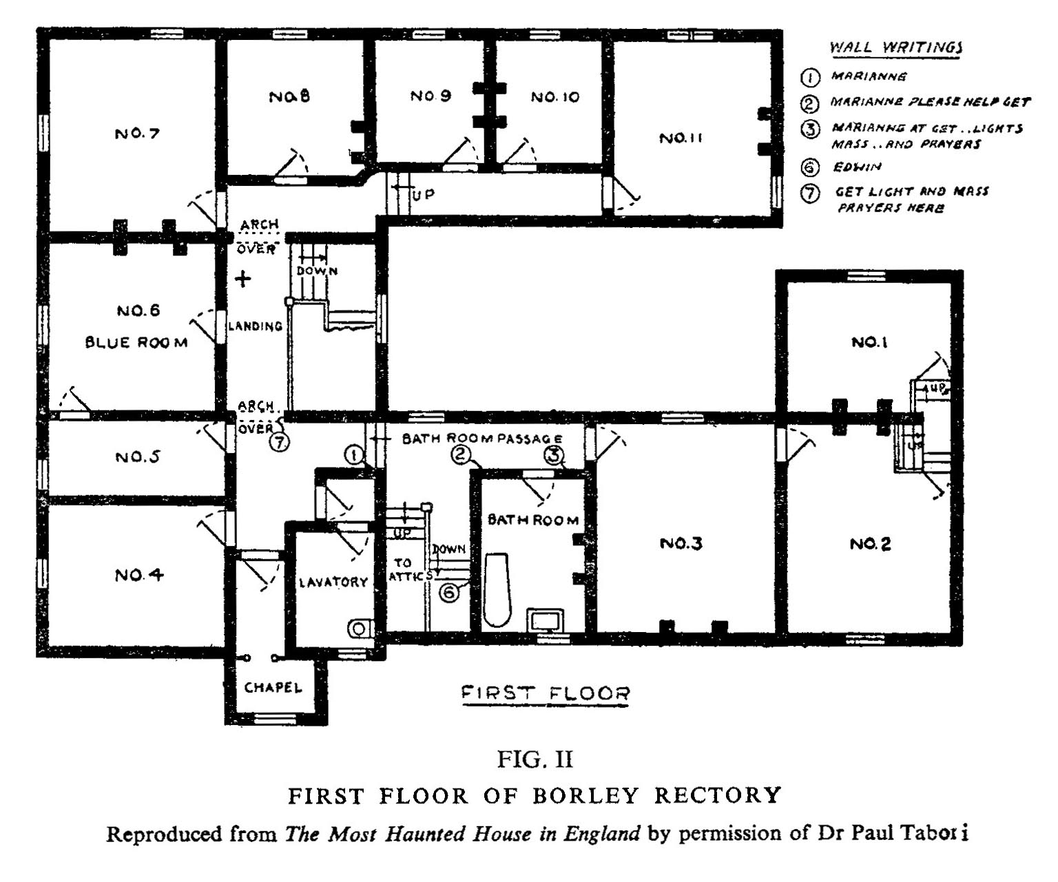 The Haunting Of Borley Rectory By Dingwall Goldney Hall Borley Rectory Topography And Legends