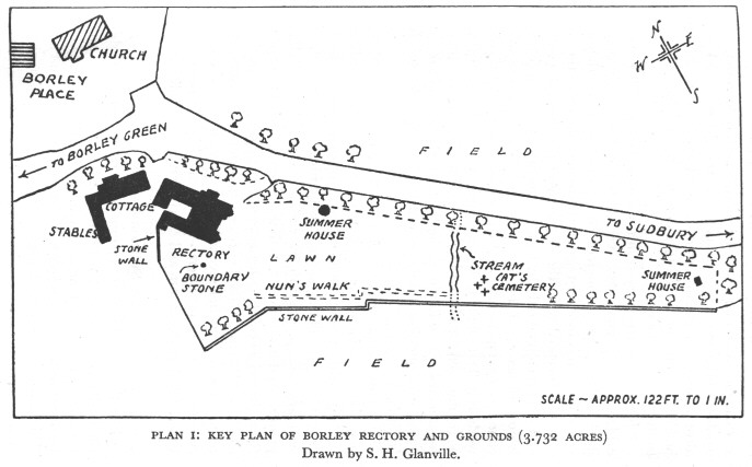 Site Plan Of Borley Rectory